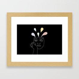 Leaks Framed Art Print