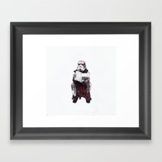 Stormpooper Framed Art Print