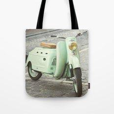 Mint Moto - Bruges Belgium Photography Tote Bag