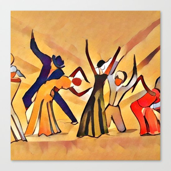 Song & Dance Canvas Print