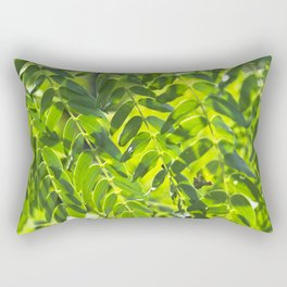 Sunny Leaves Rectangular Pillow