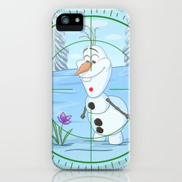 Do You Want To KILL A Snowman? iPhone Case