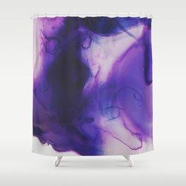 Violet Aura Shower Curtain