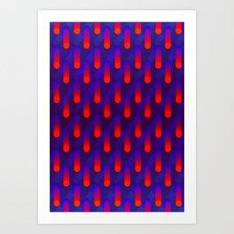Raindrop 01 Art Print