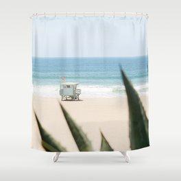 Manhattan Beach California Shower Curtain