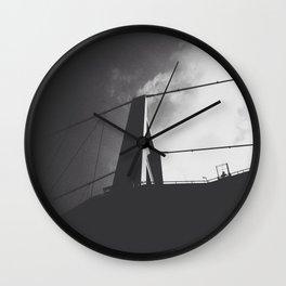 BOSPHORUS BRIDGE @ ISTANBUL Wall Clock