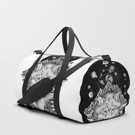 Space Wolf Duffle Bag