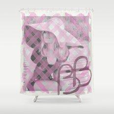 INITIALS B.B Shower Curtain