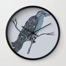 The Rook Wall Clock