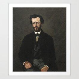 Paul Cézanne - Antony Valabrègue Art Print