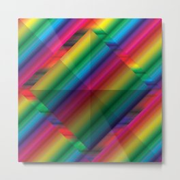 MultiSquare Prism V2 Metal Print