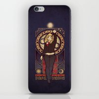 bad wolf iPhone & iPod Skins featuring Bad Wolf by Megan Lara