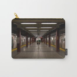Empty New York Subway Station Carry-All Pouch