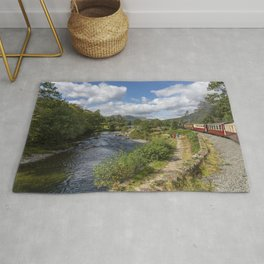 Steaming the Aberglaslyn Pass Rug
