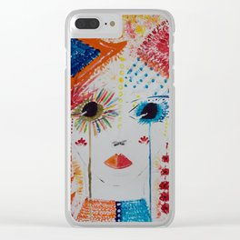 Fiona gypsy girl Clear iPhone Case