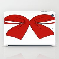 bow iPad Cases featuring bow by  MuDi