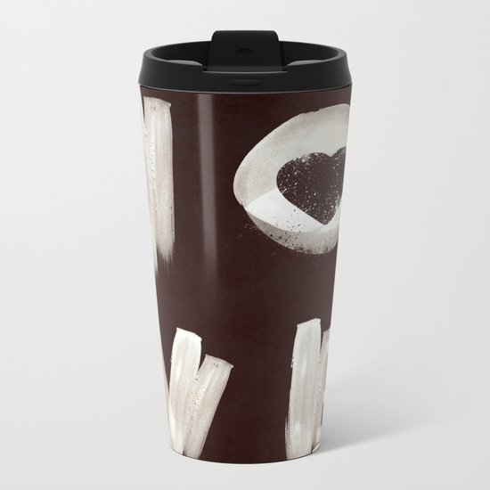 Love Yourself Metal Travel Mug