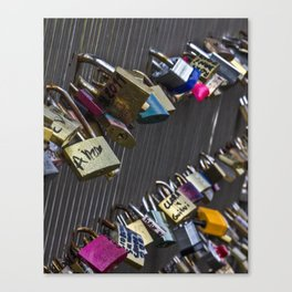 french locks Canvas Print