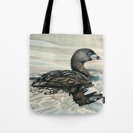 Pied-billed Grebe Tote Bag
