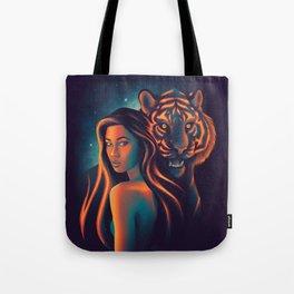Fierce Beauty Tote Bag