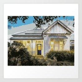 Melbourne Edwardian 1 Art Print