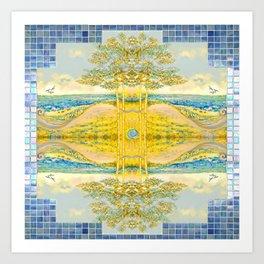 Sacred Reflection Art Print