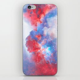 Stay with me between the Clouds and your Dreams iPhone Skin