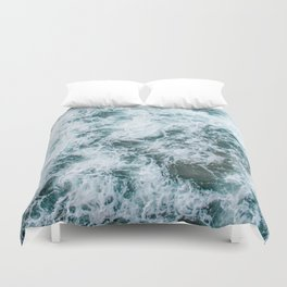 Waves in Abstract Duvet Cover