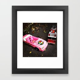 Barbie Causes an Accident Framed Art Print