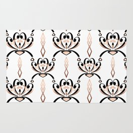 Pattern in style Art Deco Rug