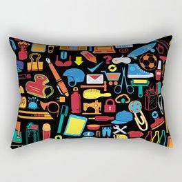 All things matter (Black) Rectangular Pillow