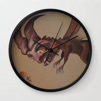 nightmare Wall Clocks featuring Nightmare by Walko