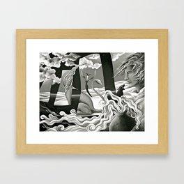 Traveler's Fortune Framed Art Print