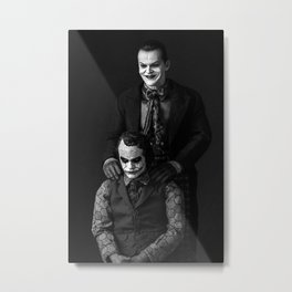 The Jokers Metal Print