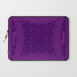Morning Star (Purple) Laptop Sleeve