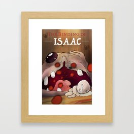 The Binding of Issac Framed Art Print