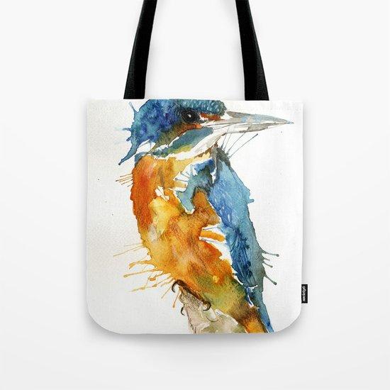 Mr Kingfisher Tote Bag