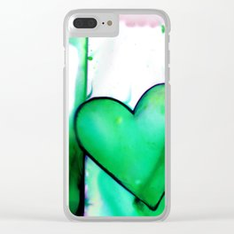 Heart Dreams 1E by Kathy Morton Stanion Clear iPhone Case