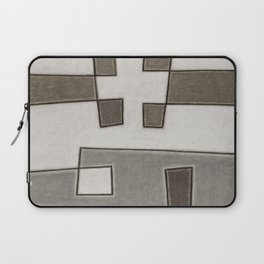 Protoglifo 10 Greyish approaching Laptop Sleeve