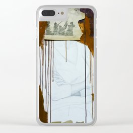 Shoot the Moon Clear iPhone Case