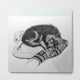 Tito Sleeping Metal Print