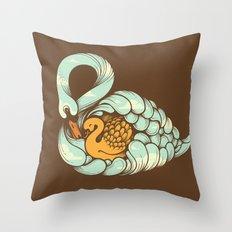 First Embrace Throw Pillow