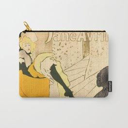 """Henri de Toulouse-Lautrec """"Jane Avril"""" Carry-All Pouch"""