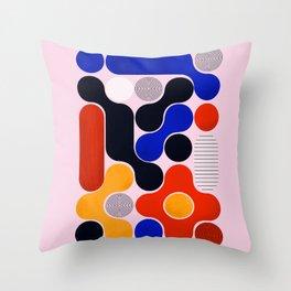 Mid-century no5 Throw Pillow
