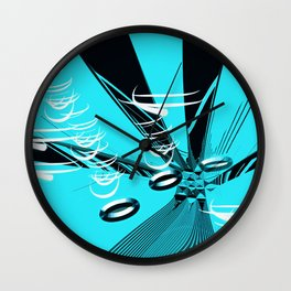 Magnetism Wall Clock