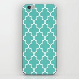 Moroccan - Turquoise iPhone Skin