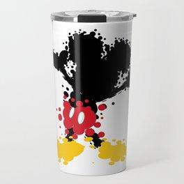 Mickey Mouse Paint Splat Magic Travel Mug