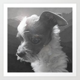 LiAM (billy d. goat) Art Print