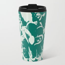 green Pine cones Travel Mug