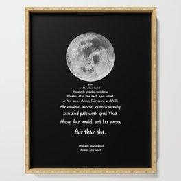 Moon Bridge Shakespeare Serving Tray